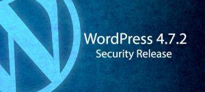 WordPress Güvenlik Güncellemesi 4.7.2