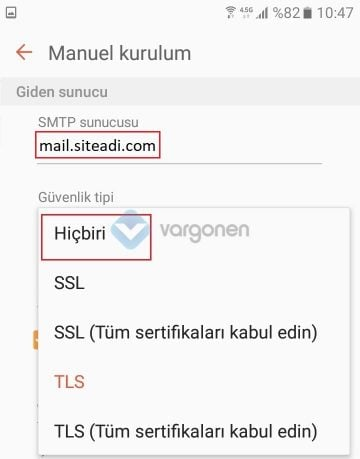 Android POP3 Mail Kurulumu Nasıl Yapılır