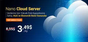Bulut Sunucu (Nano Cloud Server) Kampanyası | %60 İndirimli