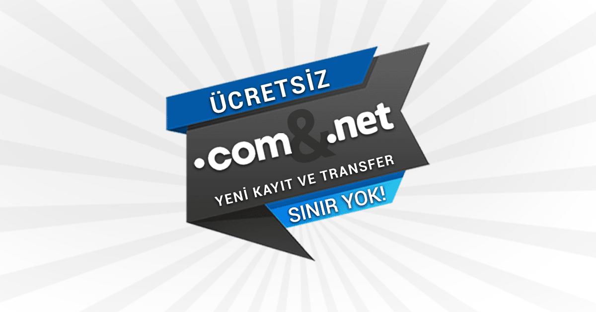 You are currently viewing Bedava .COM & .NET Domain Kayıt Fırsatı!
