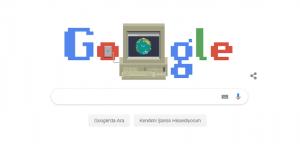 WWW 30 Yaşında! Google Doodle