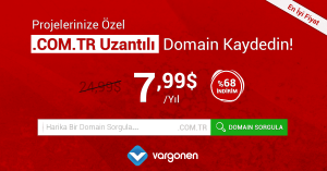 Com.TR Domain Kampanyası