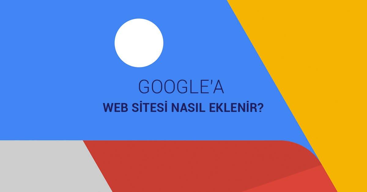 Google Site Ekleme