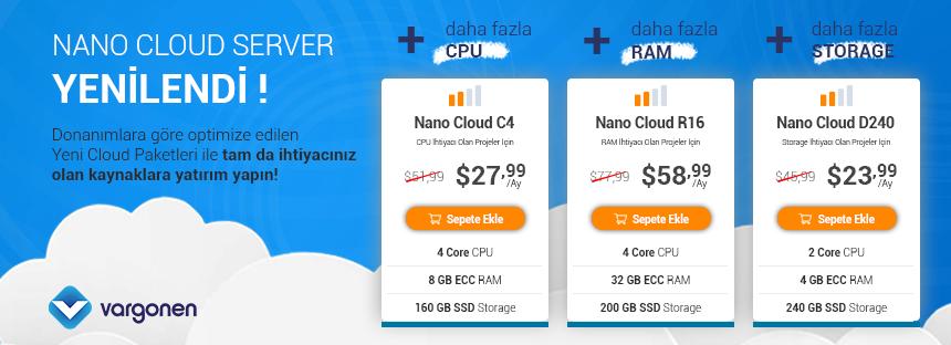 cloud server fiyatları