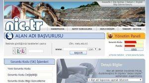 Nic TR: Türk Kayıt Operatörü